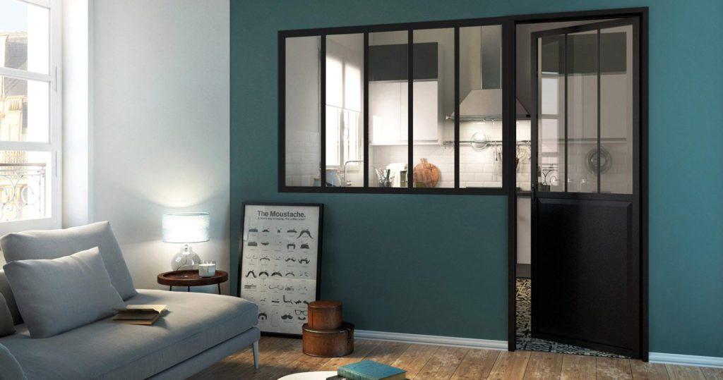 Les verrière intérieure, la bonne idée déco pour moderniser son chez-soi !