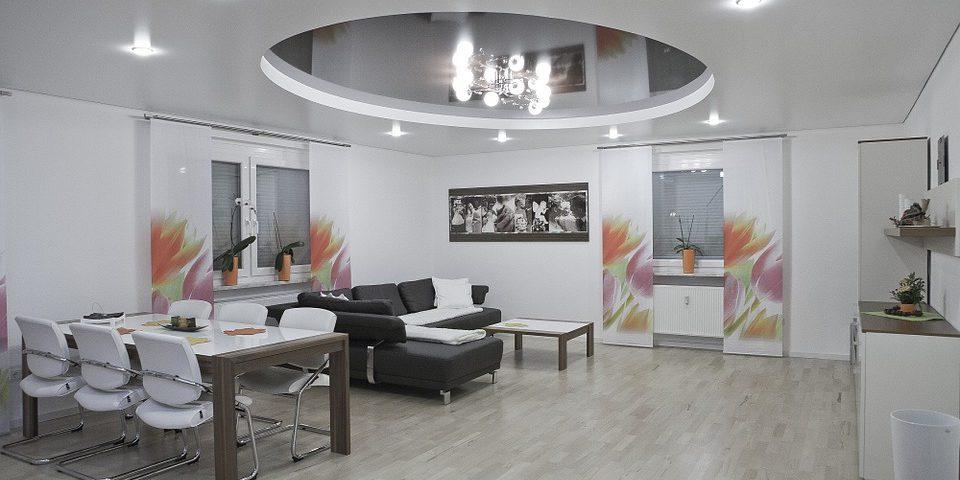 luminaire au plafond
