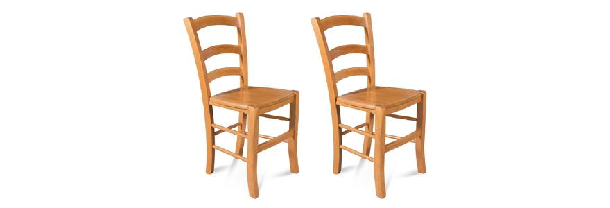 chaise de salle à manger en bois