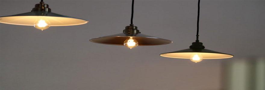 lampes de style vintage