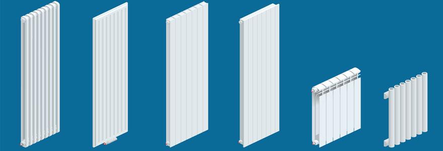 Les bonnes raisons d'opter pour un radiateur à inertie vertical