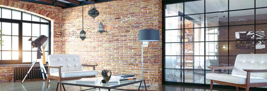 décoration d'intérieur style loft