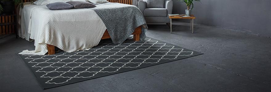 un tapis de chambre